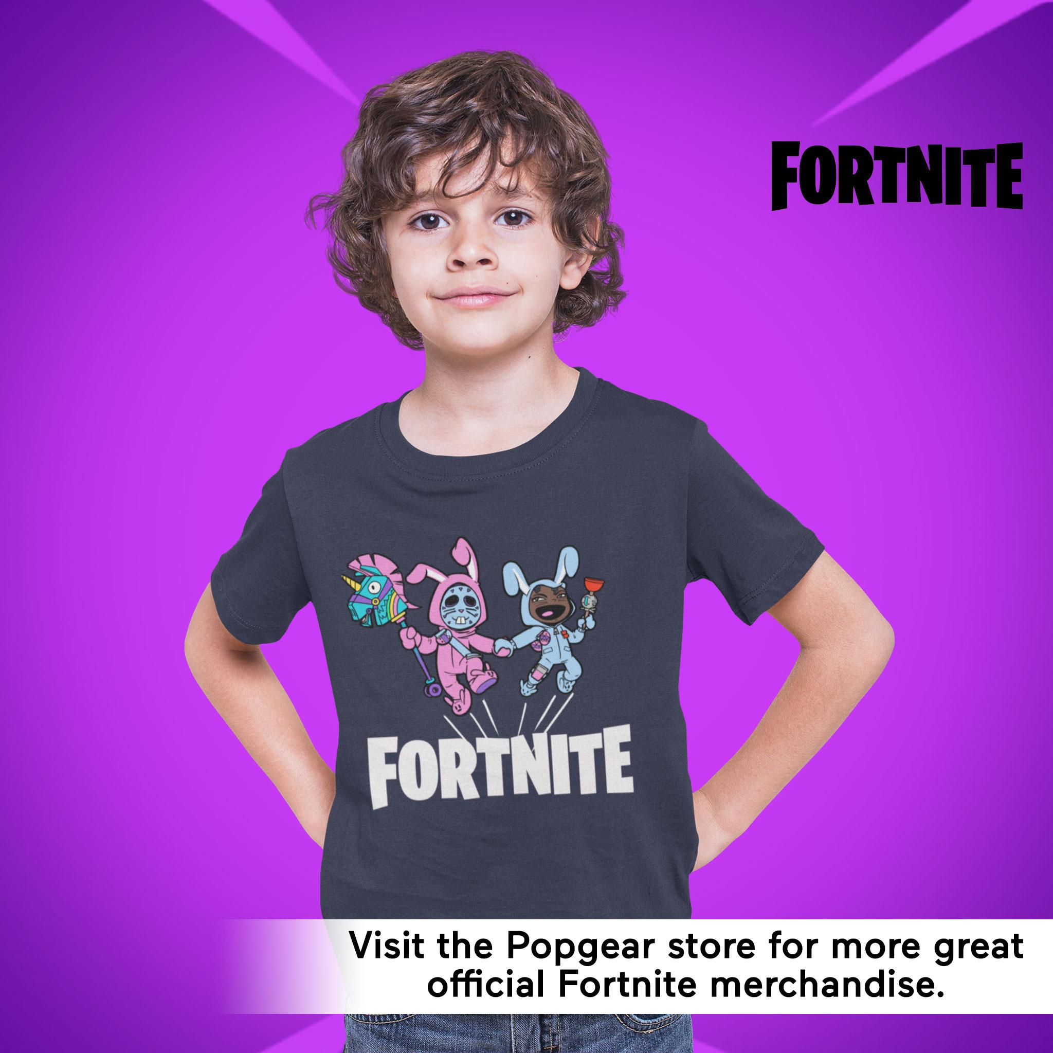 miniature 18 - Boys Fortnite T Shirt Bunny Trouble Official Merchandise