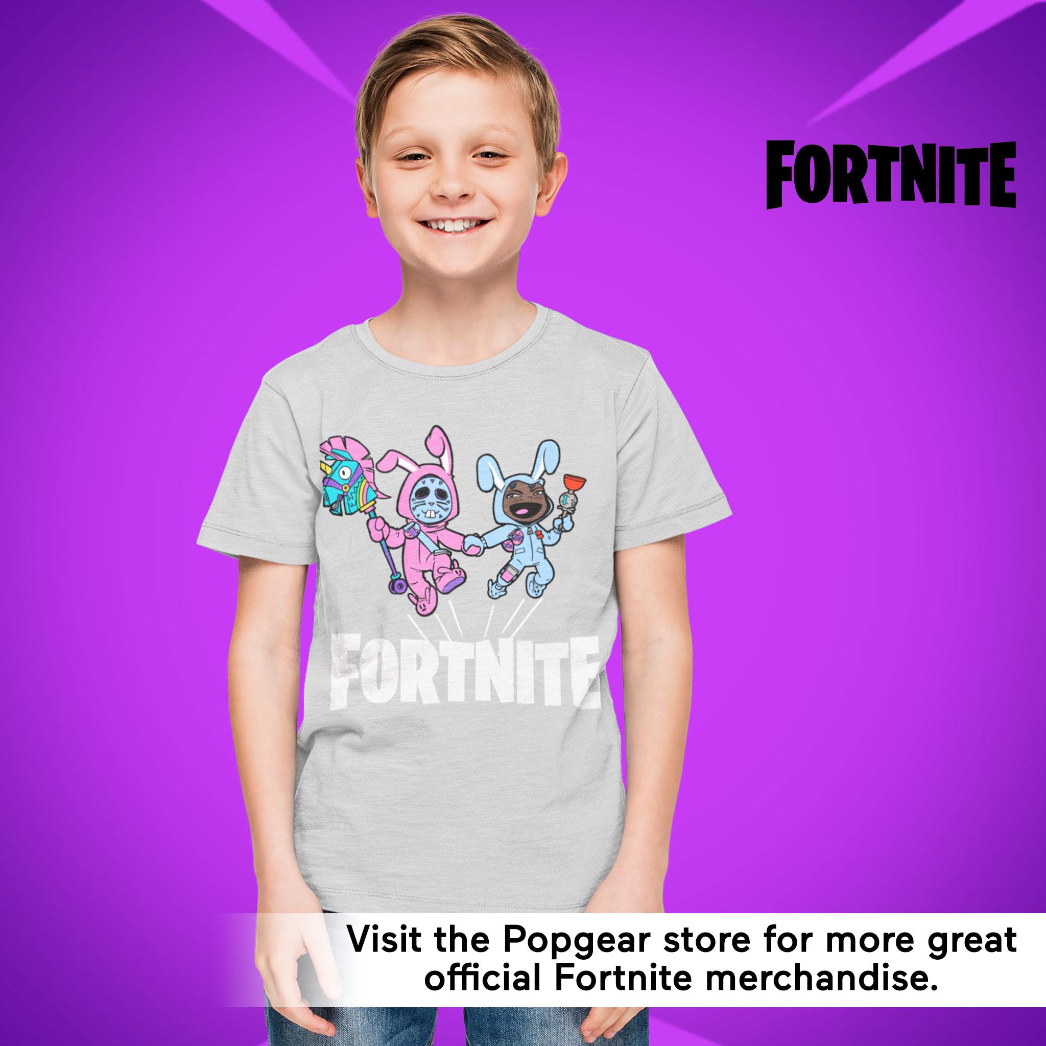 miniature 13 - Boys Fortnite T Shirt Bunny Trouble Official Merchandise