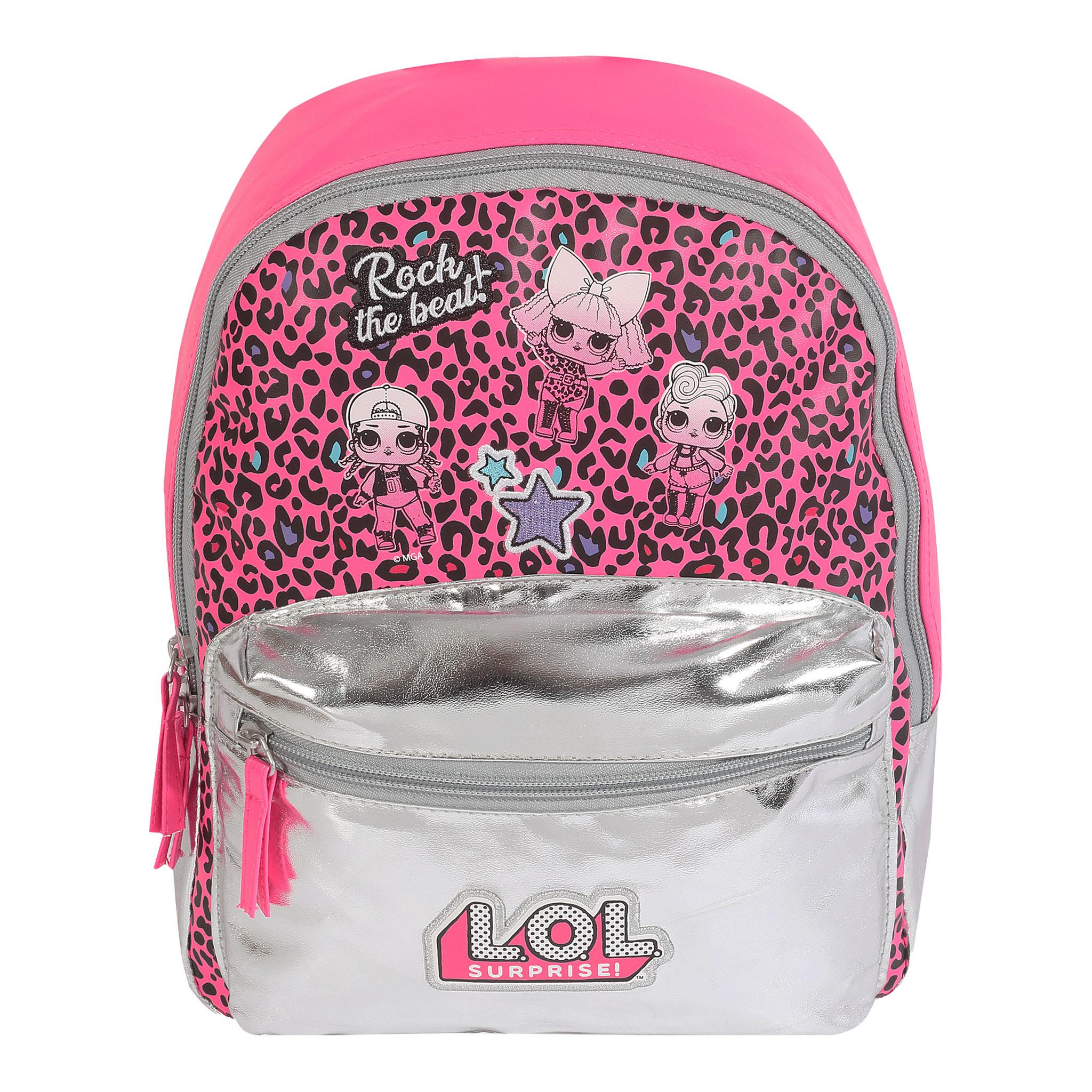 LOL Rock The Beat per Bambini Pieghevole Ombrello rosa per ragazze