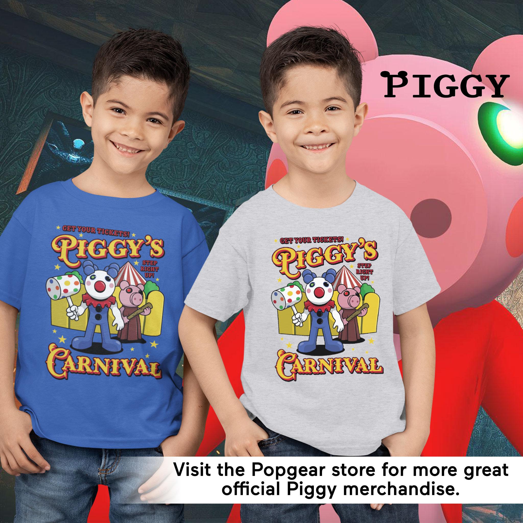 miniature 15 - Boys Piggy T Shirt Carnival Official