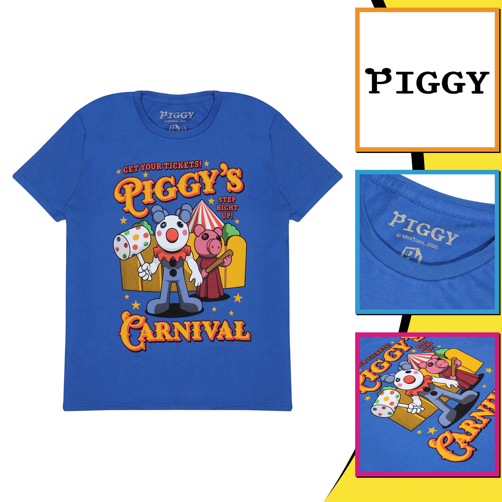 miniature 13 - Boys Piggy T Shirt Carnival Official