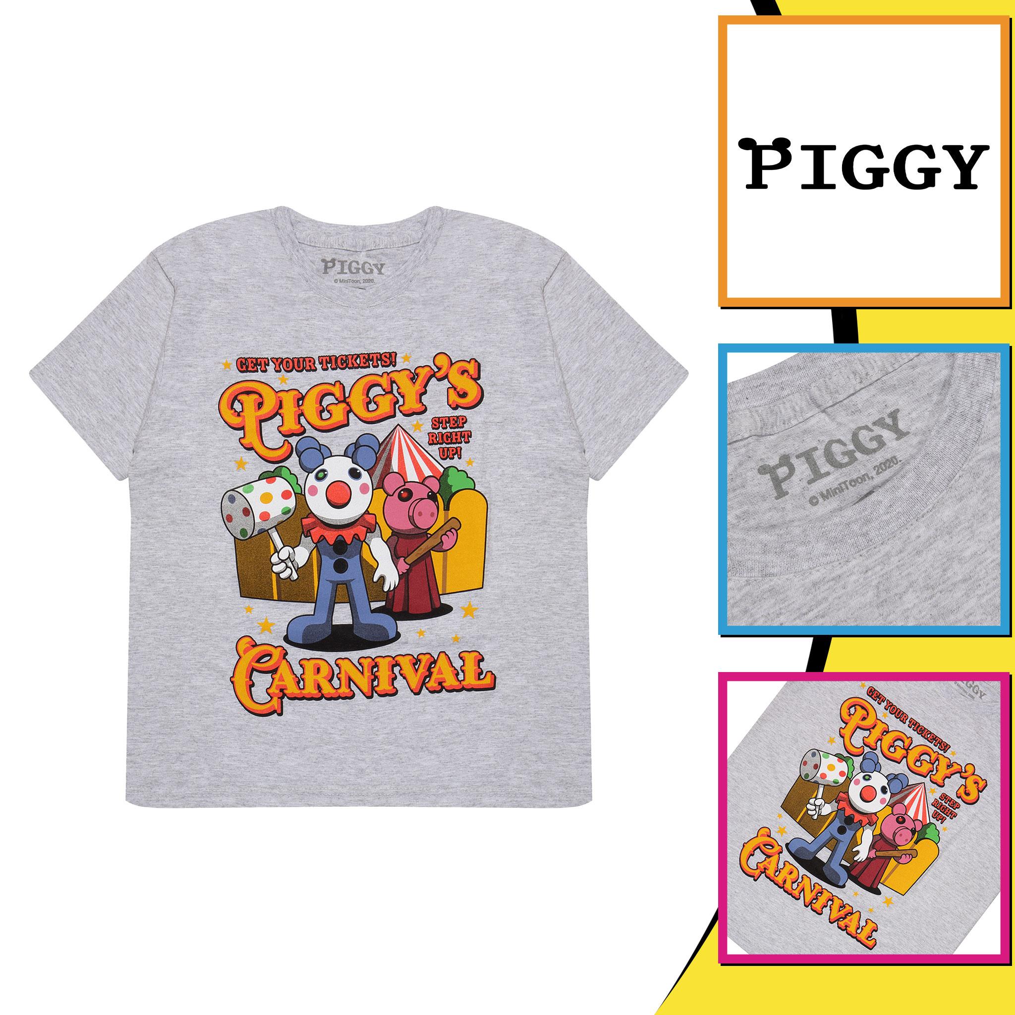 miniature 8 - Boys Piggy T Shirt Carnival Official