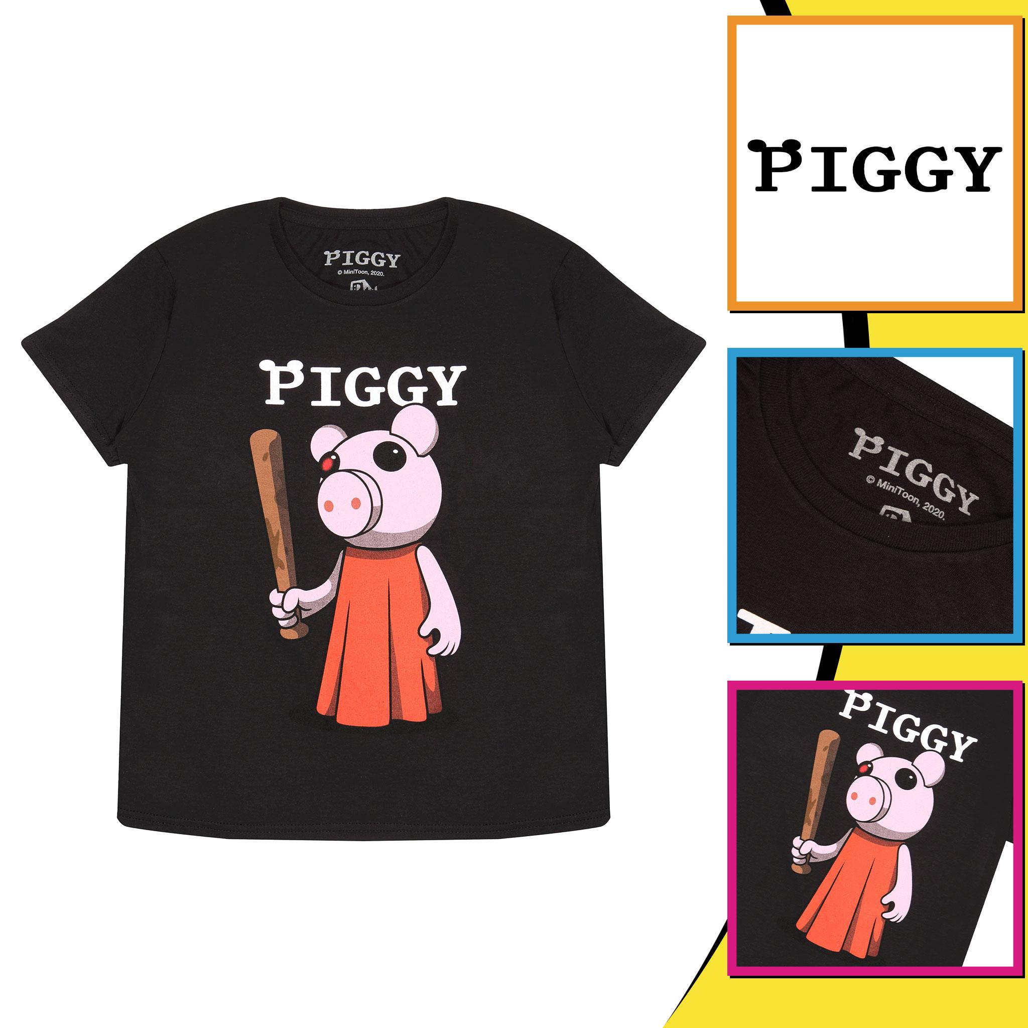 miniature 8 - Boys Piggy T Shirt Baseball Bat Official