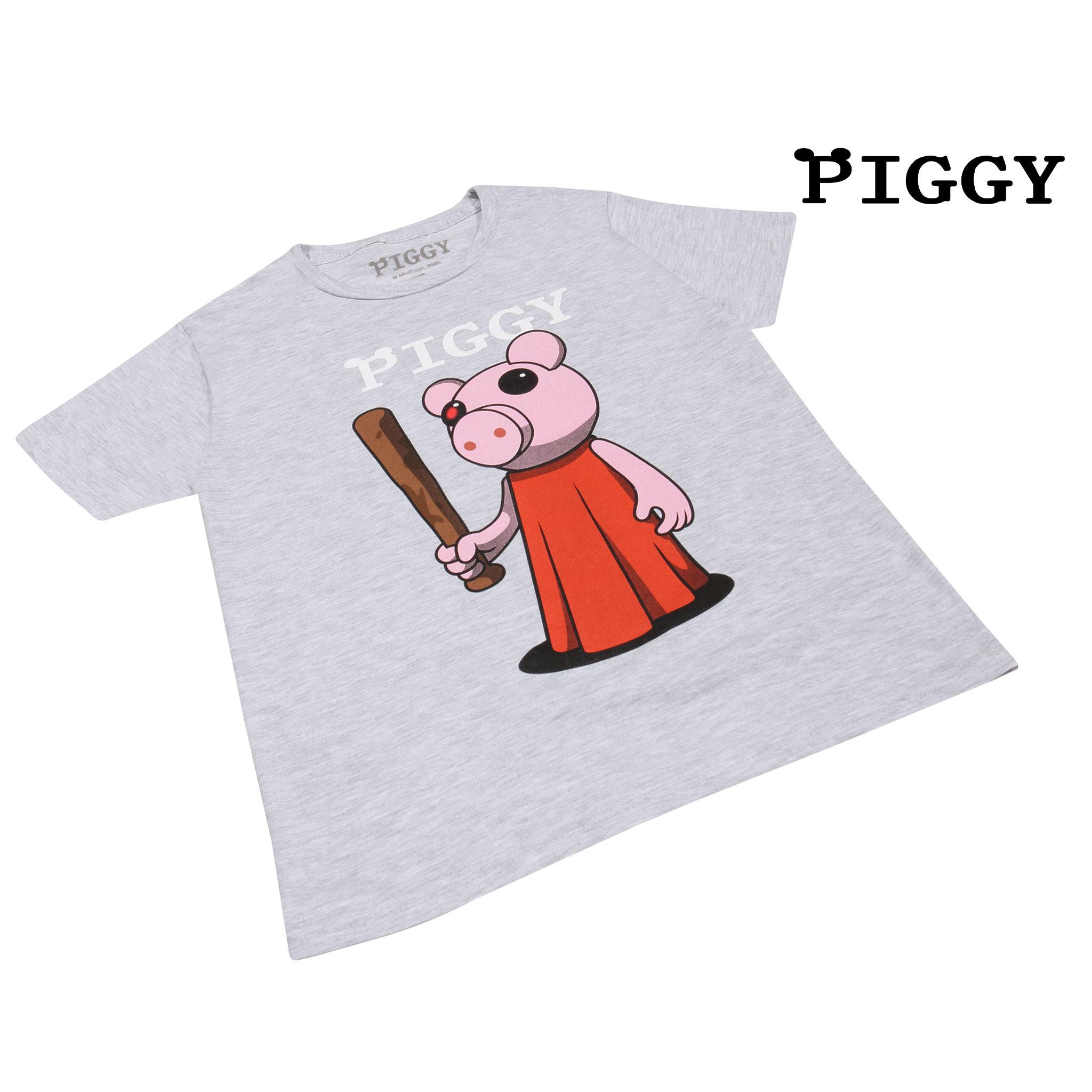 miniature 14 - Boys Piggy T Shirt Baseball Bat Official