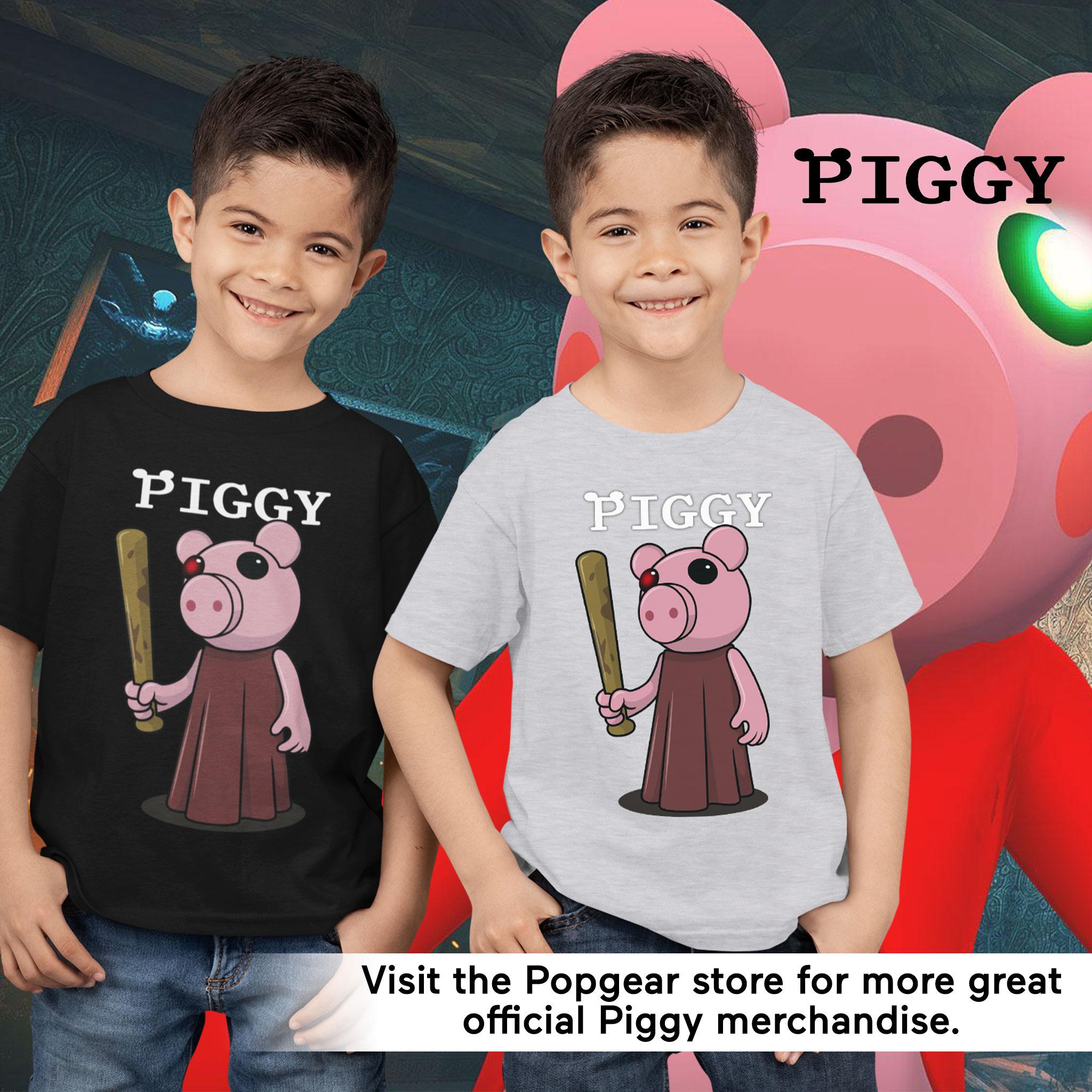 miniature 15 - Boys Piggy T Shirt Baseball Bat Official