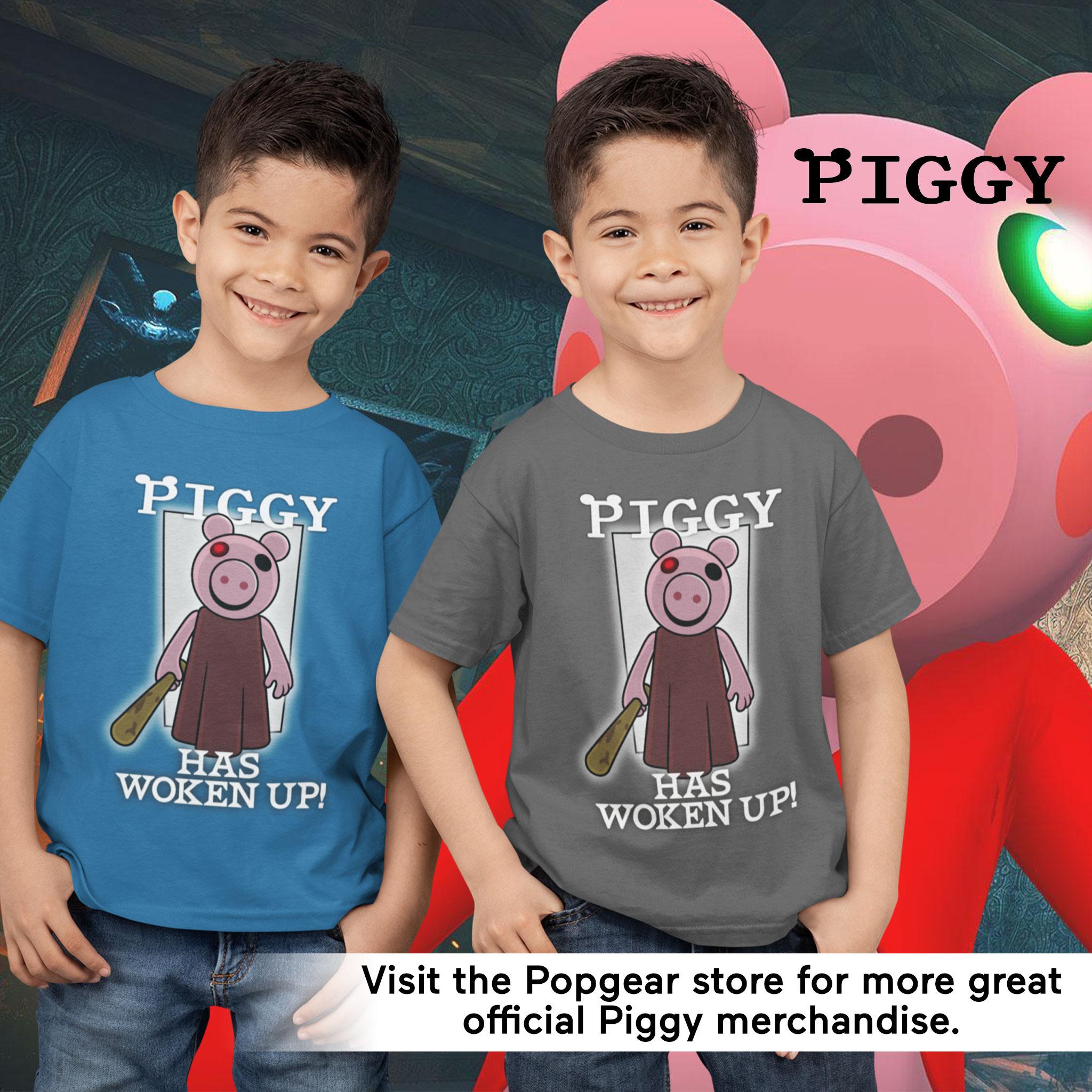 miniature 12 - Boys Piggy T Shirt Has Woken Up Official