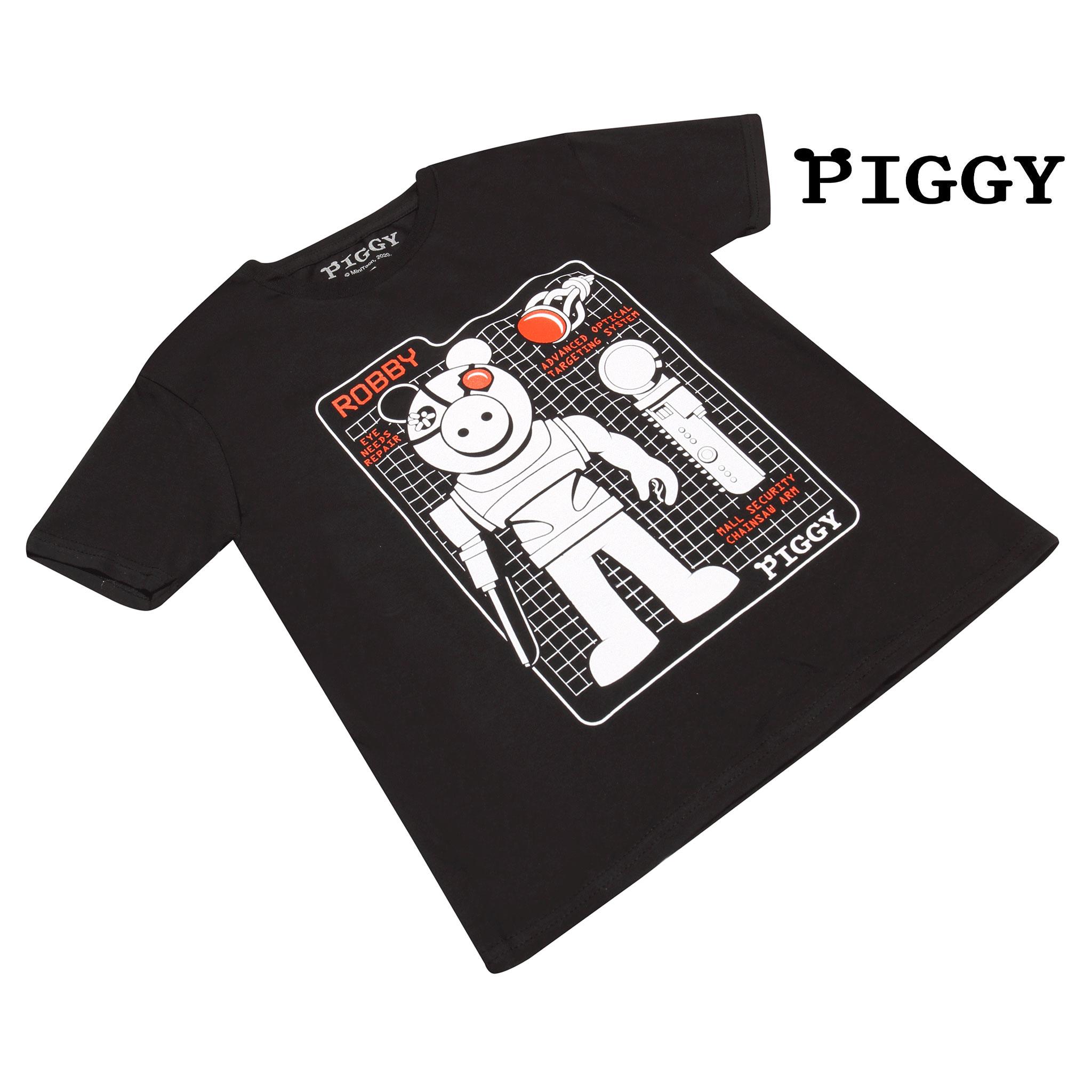 miniature 9 - Boys Piggy T Shirt Robby Tech Specs Official