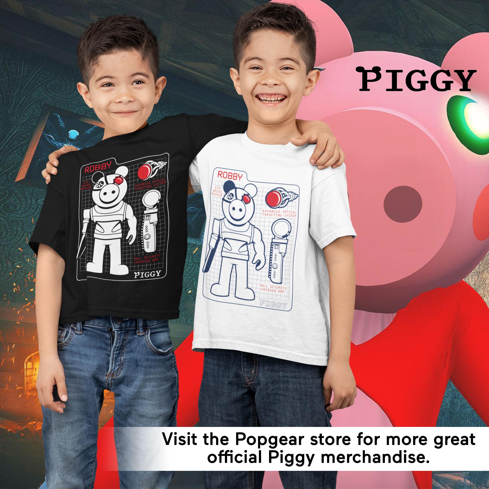 miniature 20 - Boys Piggy T Shirt Robby Tech Specs Official