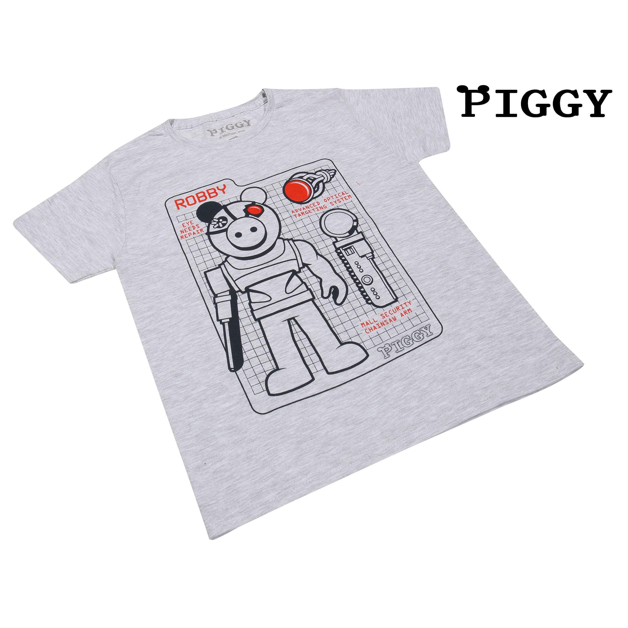 miniature 14 - Boys Piggy T Shirt Robby Tech Specs Official