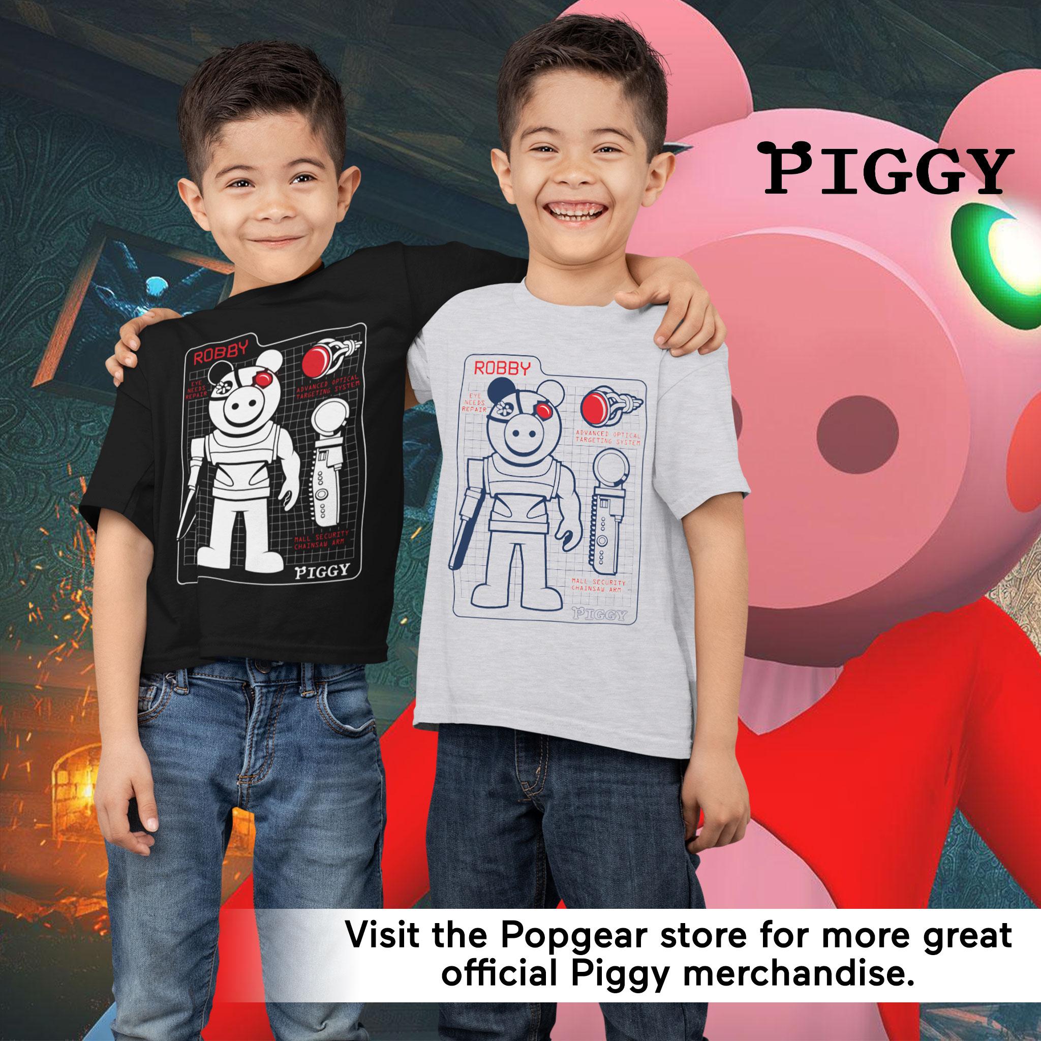 miniature 15 - Boys Piggy T Shirt Robby Tech Specs Official